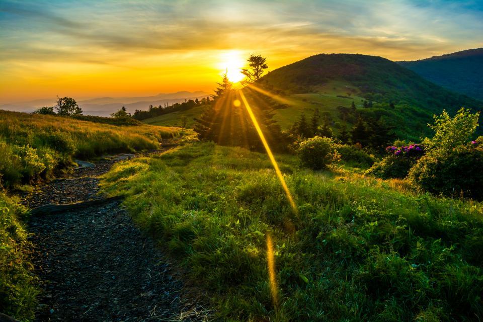 Sunrise along the Appalachian trail | Shutterbug